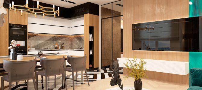 RC «Prestige Hall». 65 sq.m. two-bedroom apartment