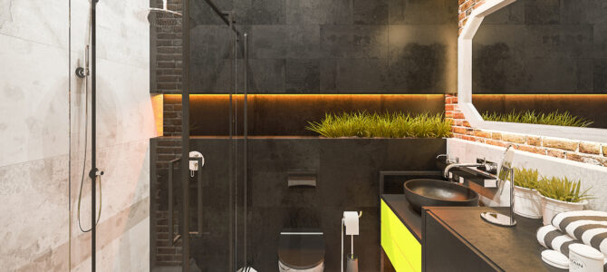 «Chocolate». From a three-bedroom into a two-bedroom apartment!100 sq.m.