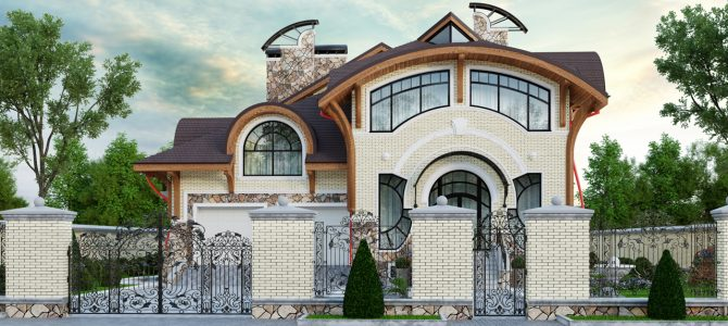 «Modern». Art Nouveau House