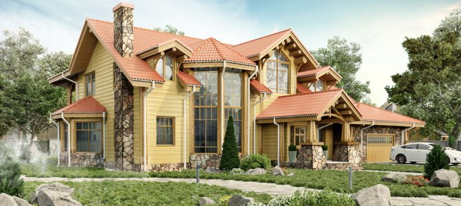 «Tahoe». Timber House