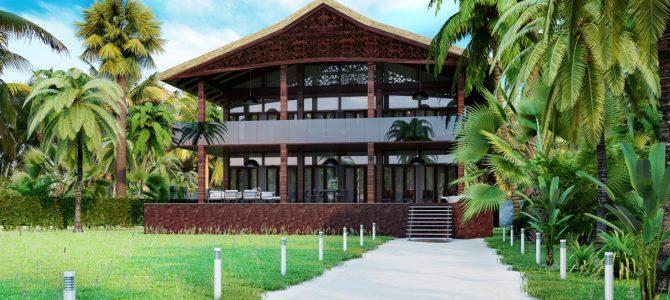 «Lasperance».  Colonial-style Villa