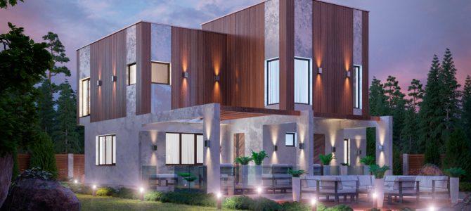 «Cube». High-tech House