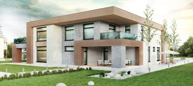 «Stone». Minimalistic House
