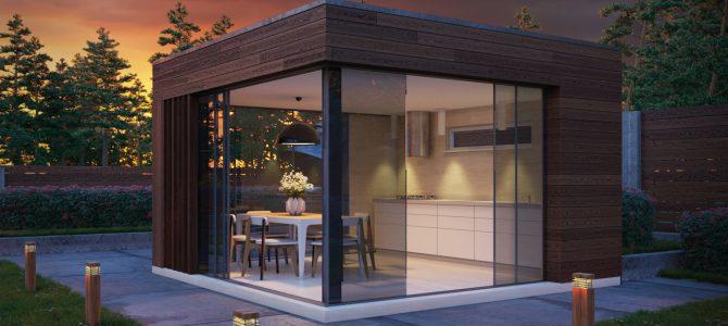 «BBQ House 1». Minimalistic Summerhouse