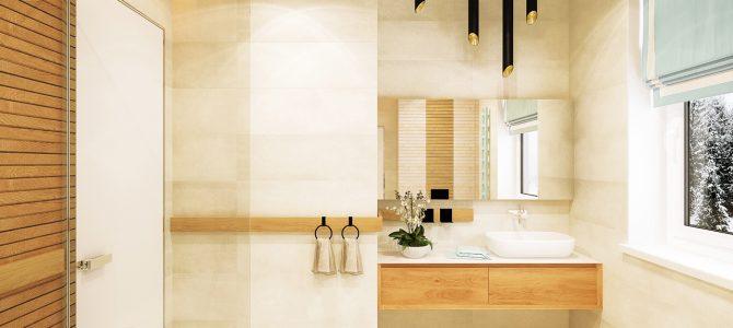 «Pine forest» villa. Bathroom – laundry room