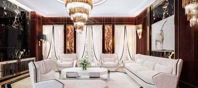 «Hills». Dining room – living room