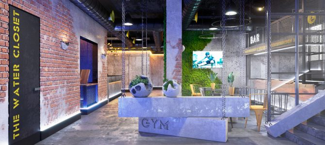 «HAMMER legend» Gym. Astana. Kazakhstan