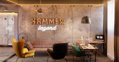 Тренажерный зал «HAMMER legend». Астана
