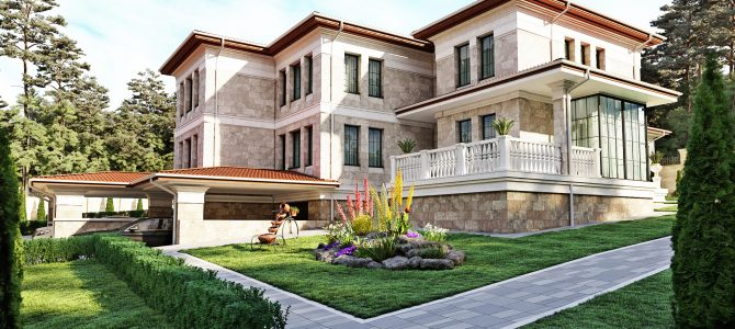 «Pearl». Mediterranean style Duplex-House