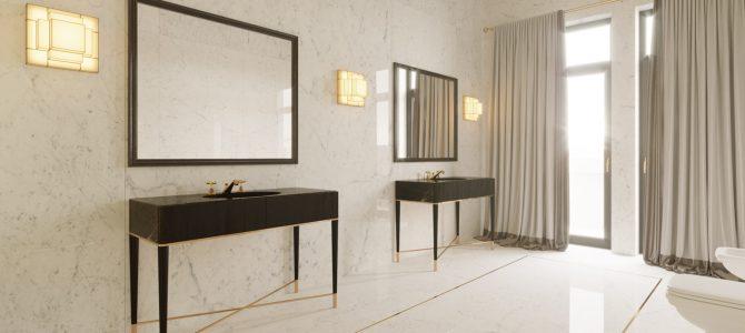 «DIAMOND». 19 sq.m. master bathroom