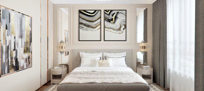 «Velvet». 1,5 sq.m. master bedroom