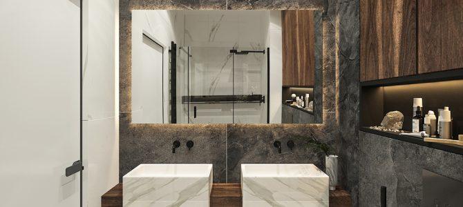 «Velvet». 4,1 sq.m. guest bathroom