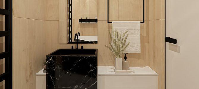 «Velvet». 4,4 sq.m. master bathroom