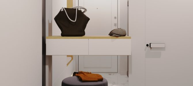 «Agate». 54 sq.m. two-bedroom apartment