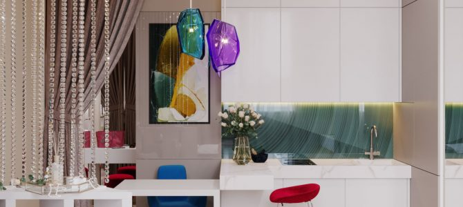 «Amour». Smart apartment. 28 sq.m.