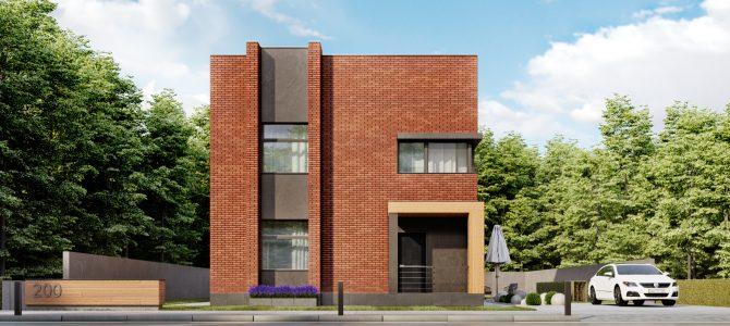 «Rubik's Cube». Minimalistic House