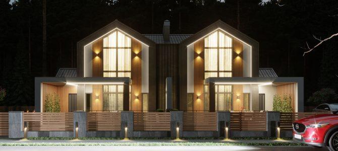 «Barn House 2+2». Barn-style House