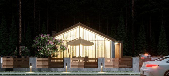 «Barn House 1». Barn-style House