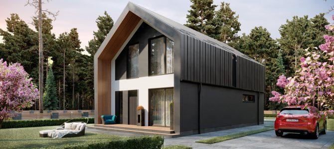 «Barn House Z». Barn-style House