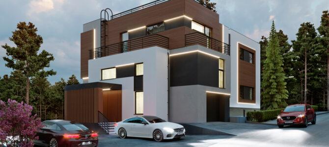 «IQ House». High-tech House