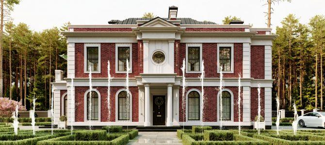 «ELIZABETH». English-style House
