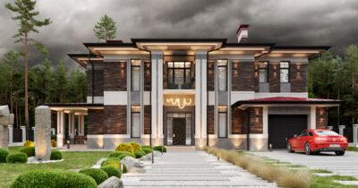 «Jewelry House». Дом в стиле Райта