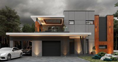 «Strong House». Дом в стиле хай-тек