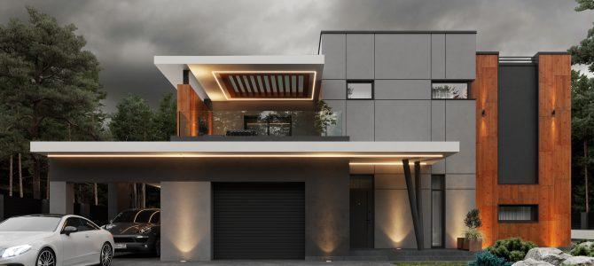 «HQ». High-tech House