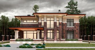 «Brigde House 3». Дом в стиле Райта