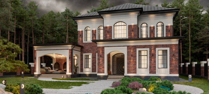 «DIANA». English-style House