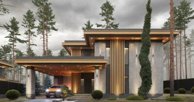 «Armani House NL». Дом в стиле Райта