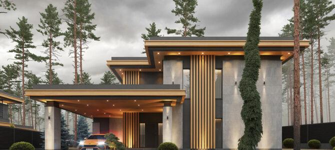 «Armani House NL». Prairie/Wright style House